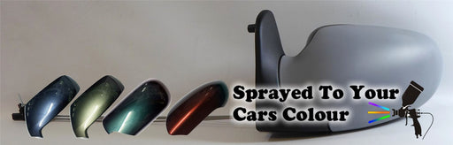 Volkswagen Sharan Mk1 4/1998-5/2000 Cable Wing Mirror Passenger Side N/S Painted Sprayed