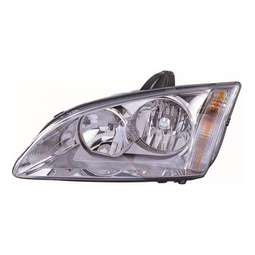 Ford Focus Mk2 Estate 2005-5/2008 Chrome Inner Headlight Lamp Passenger Side N/S