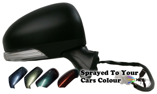 Toyota Prius 6/09-6/16 Wing Mirror Power Folding Drivers Side O/S Painted Sprayed