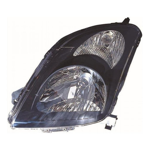 Suzuki Swift Mk3 Hatch 4/2005-2010 Black Surround Headlight Passenger Side N/S