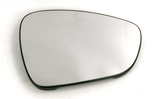 Peugeot 508 Mk.1 1/2010-4/2017 Heated Convex Chrome Mirror Glass Drivers Side O/S