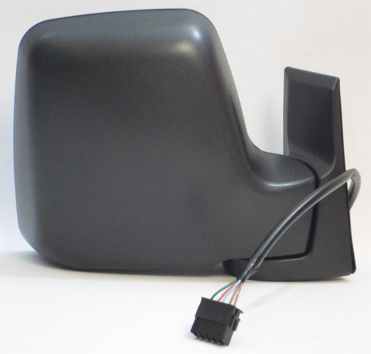 Fiat Scudo Mk.1 1995-2006 Electric Wing Mirror Heated Black Drivers Side O/S