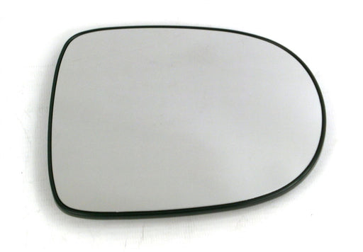 Renault Clio Mk.3 5/2009-4/2013 Heated Aspherical Mirror Glass Drivers Side O/S