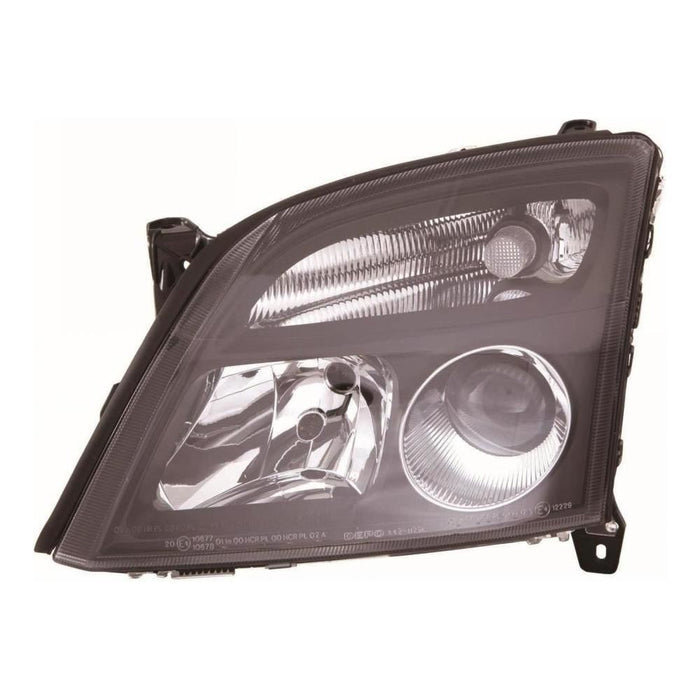 Vauxhall Vectra Mk2 Estate 3/2002-2005 Black Inner Headlight Passenger Side N/S