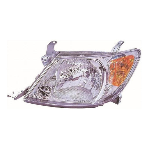 Toyota Hi-Lux Mk5 Pickup 10/2005-3/2010 Headlight Headlamp Passenger Side N/S