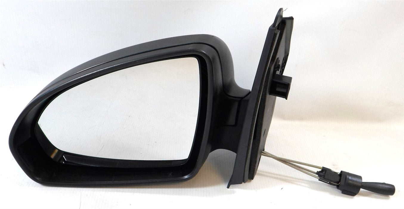 Smart Fortwo Mk2 9/2007-4/2015 Manual Cable Wing Mirror Black Passenger Side N/S