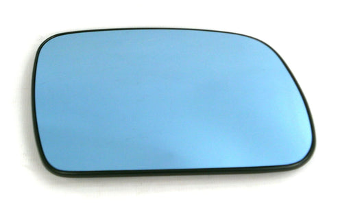 Peugeot 407 2004-2011 Heated Convex Blue Tinted Mirror Glass Drivers Side O/S