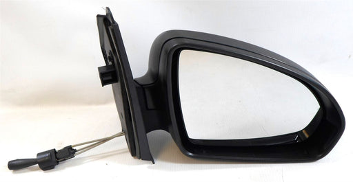 Smart Fortwo Mk2 9/2007-4/2015 Cable Wing Mirror Black Textured Drivers Side O/S