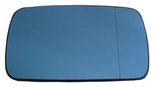BMW 3 Series E36 4 & 5 Door 1991-2000 Heated Blue Tinted Mirror Glass Drivers Side O/S
