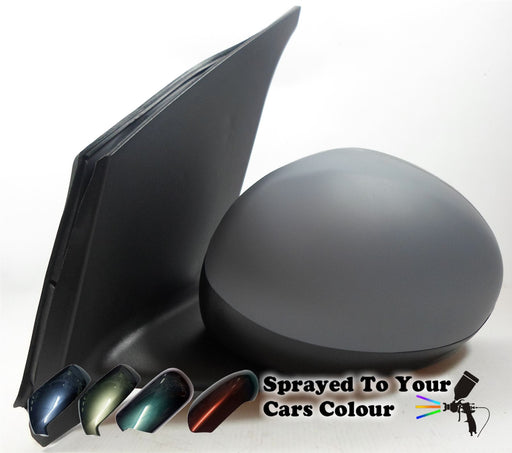 Peugeot 107 2005-2014 Manual Cable Wing Door Mirror Passenger Side N/S Painted Sprayed