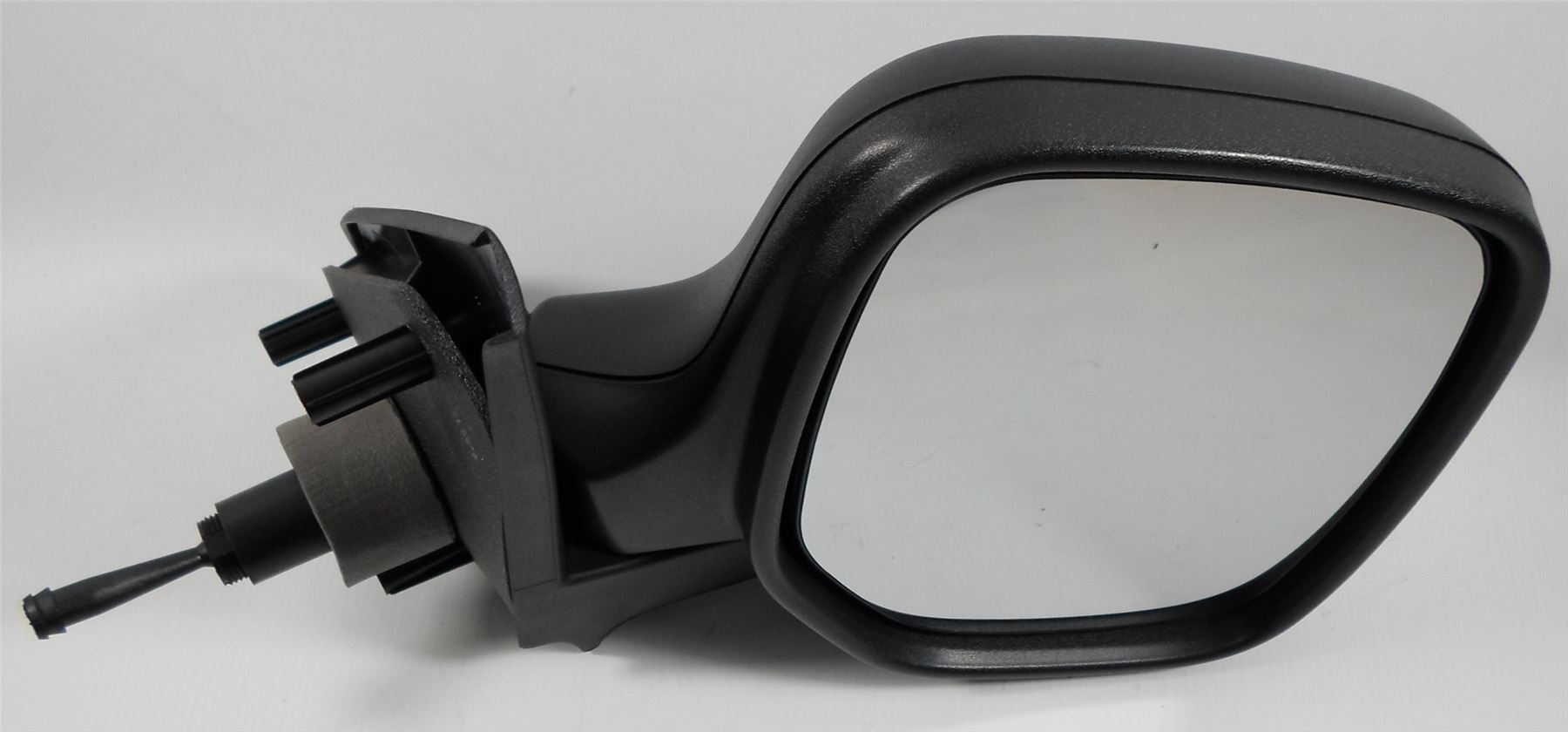 Peugeot Partner Mk.1 1996-2008 Cable Wing Mirror Black Textured Drivers Side O/S