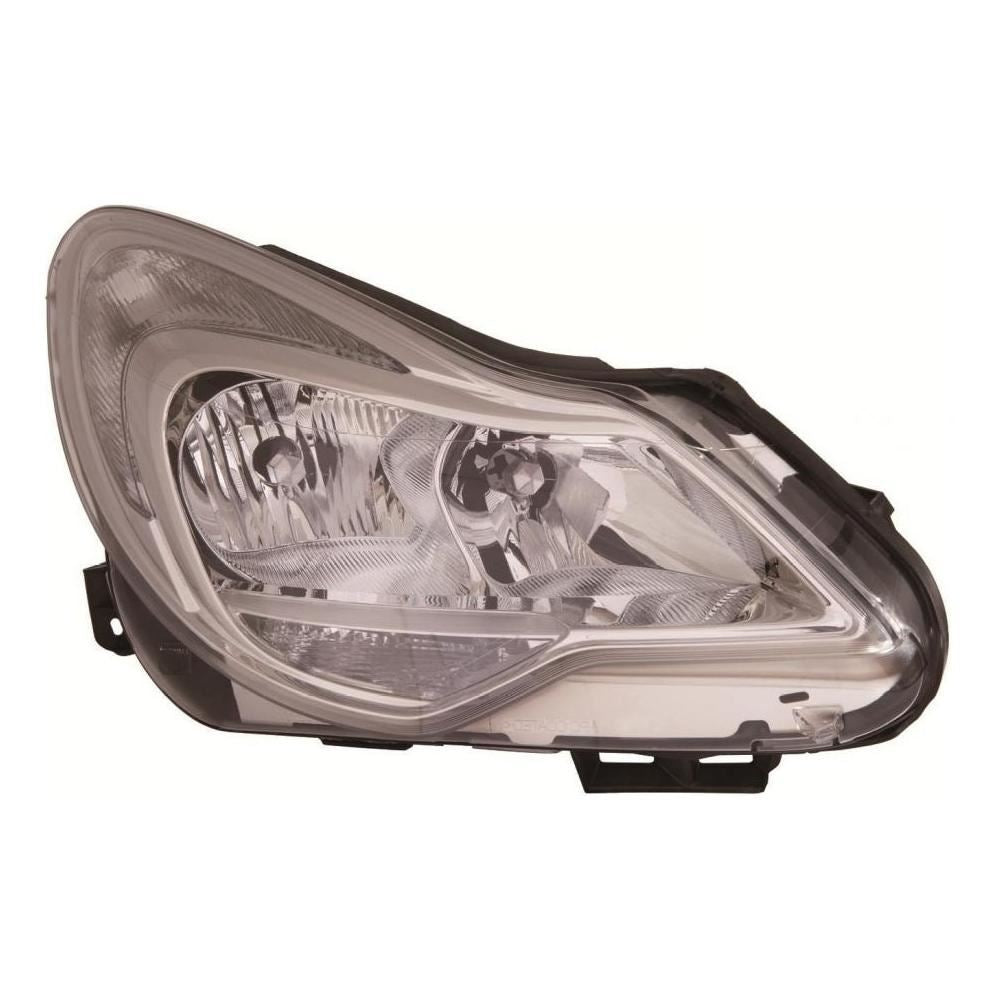 Vauxhall Corsa D Mk3 Hatch 1/2011-4/2015 Chrome Inner Headlight Drivers Side O/S