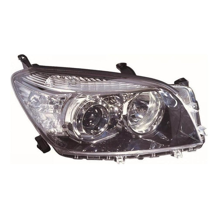 Toyota RAV-4 Mk3 ATV / SUV 2/2006-6/2009 Black Inner Headlight Drivers Side O/S