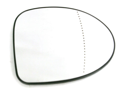 Renault Twingo Mk.1 2007-2/2012 Non-Heated Aspherical Mirror Glass Drivers Side O/S