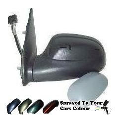 Citroen Saxo 1996-2003 Electric Wing Mirror Heated Passenger Side N/S Painted Sprayed
