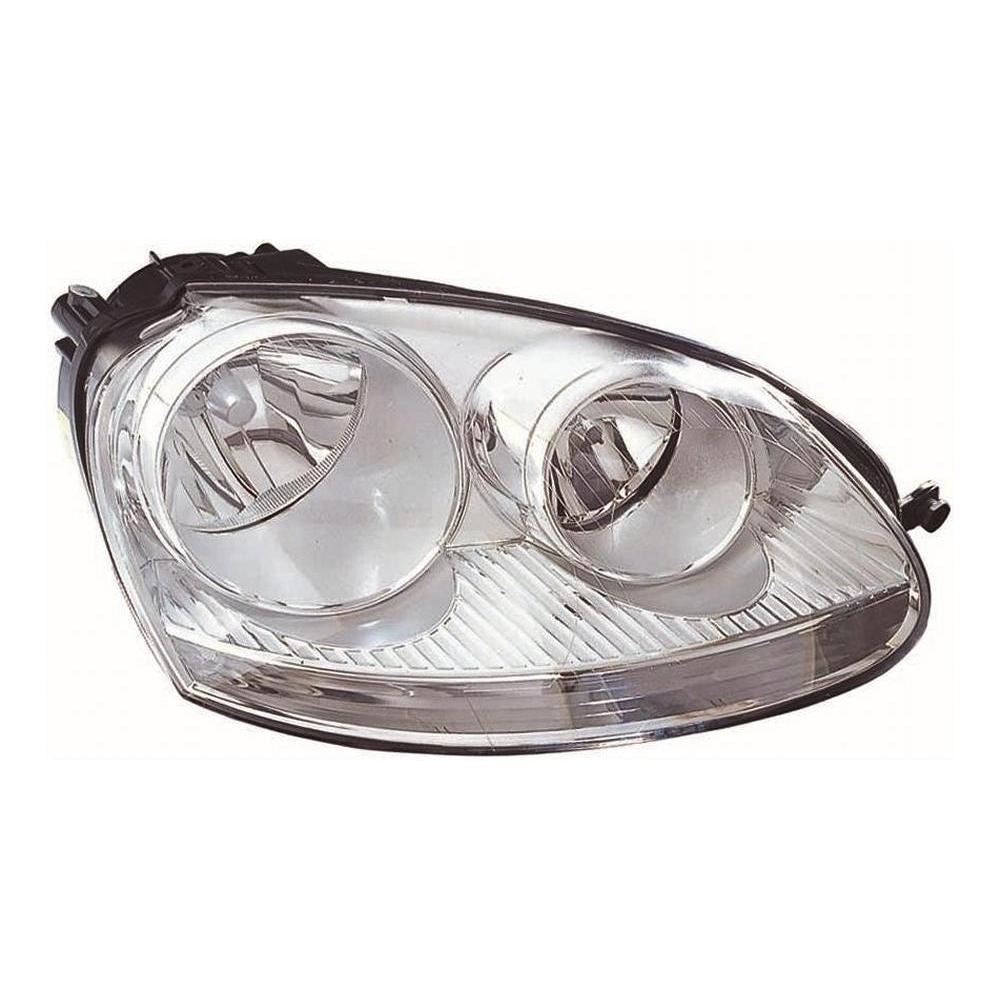 Volkswagen Jetta Mk2 Saloon 2006-9/2011 Headlight Headlamp Drivers Side O/S