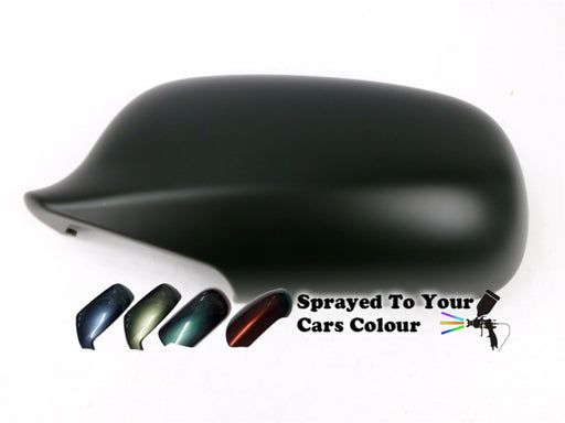 Saab 9-5 9/2001-8/2010 Wing Mirror Cover Passenger Side N/S Painted Sprayed