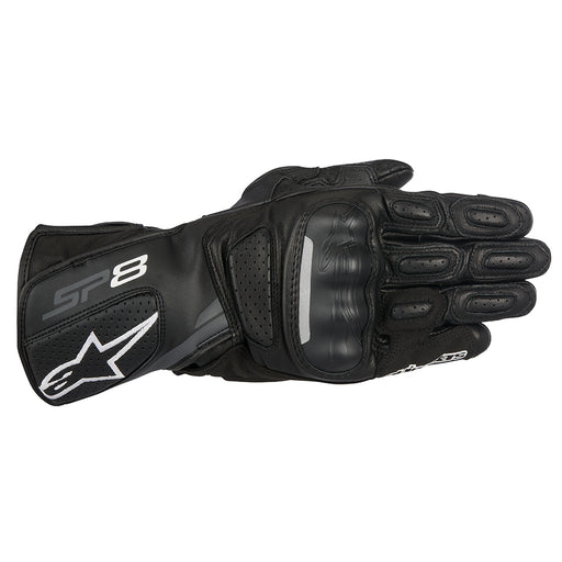 Alpinestars SP-8 v2 Gloves Black & Dark Grey