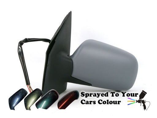 Toyota Yaris Mk.1 5/2003-2005 Electric Wing Mirror Passenger Side N/S Painted Sprayed