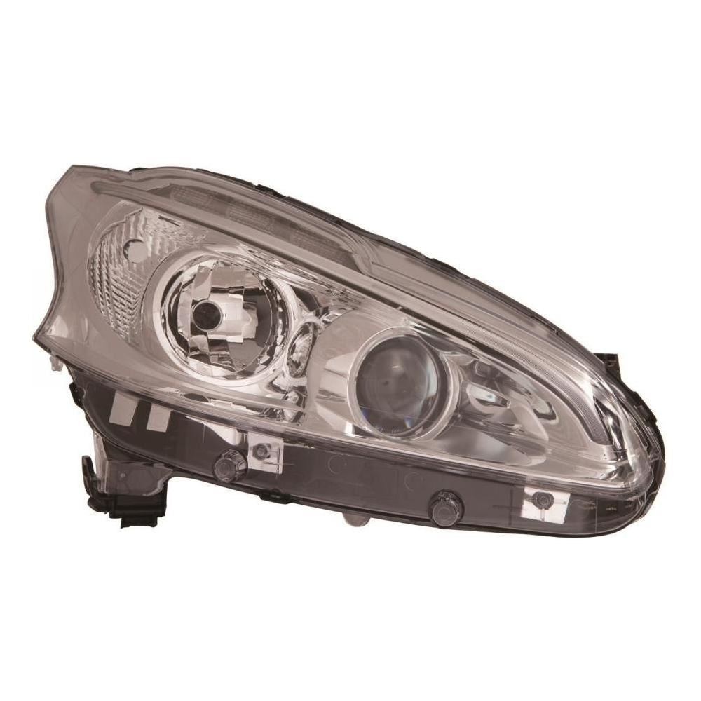 Peugeot 208 Hatchback 2012-7/2015 Headlight Headlamp Inc DRL Drivers Side O/S