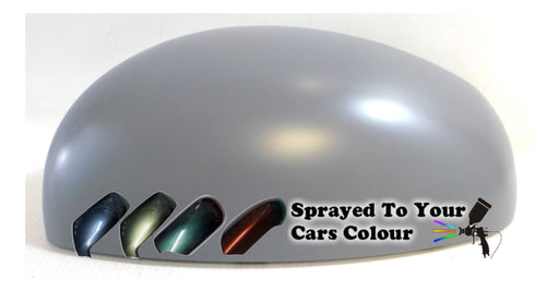 Skoda Roomster 2006-5/2016 Wing Mirror Cover Passenger Side N/S Painted Sprayed
