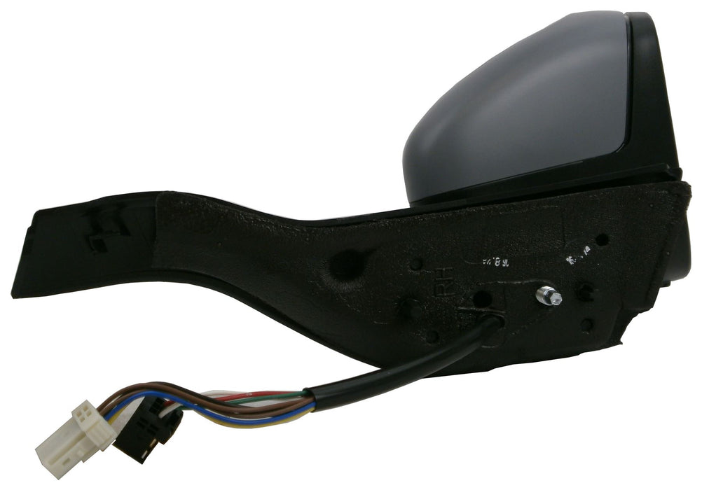 Peugeot 208 2012+ Electric Wing Mirror Heated Indicator Black Arm Drivers Side