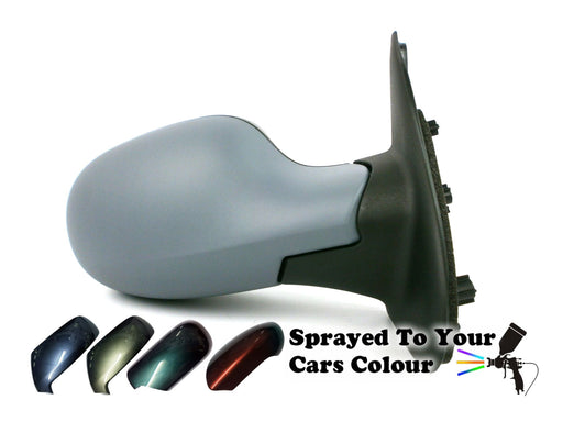 Nissan Micra K12 Mk.3 2003-2010 Electric Wing Mirror Drivers Side O/S Painted Sprayed