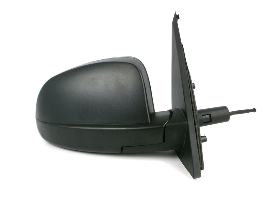 Vauxhall Meriva Mk.1 2003-9/2010 Cable Wing Mirror Black Textured Drivers Side