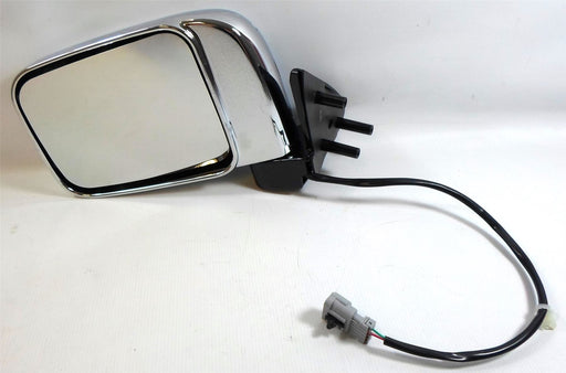 Nissan D22 Pick-Up 2001-2006 Electric Wing Mirror Chrome Finish Passenger Side