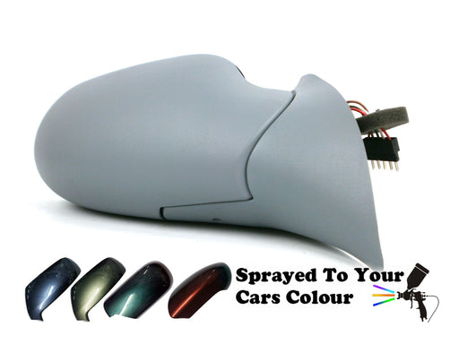 Mercedes A Class W168 1998-9/2003 Electric Wing Mirror Drivers Side O/S Painted Sprayed