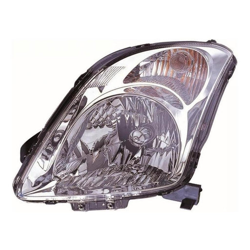 Suzuki Swift Mk3 Hatch 4/2005-2010 Chrome Surround Headlight Passenger Side N/S