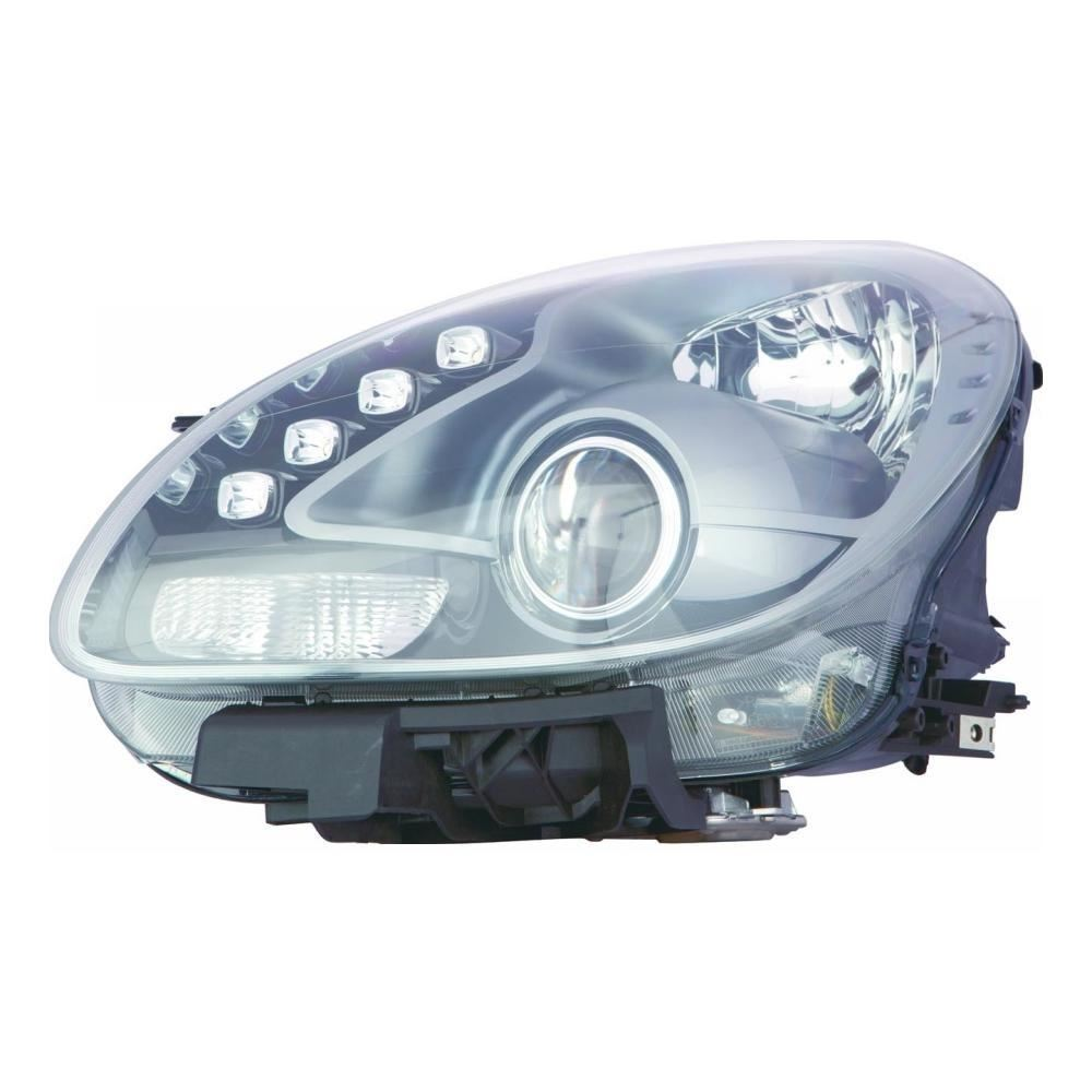 Alfa Giulietta Hatchback 2010+ Black Inner Headlight Headlamp Passenger Side N/S