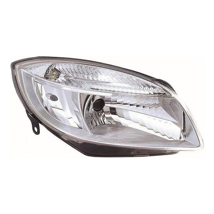 Skoda Fabia Mk2 Estate 5/07-4/10 Excl vRS Headlight Headlamp Drivers Side O/S