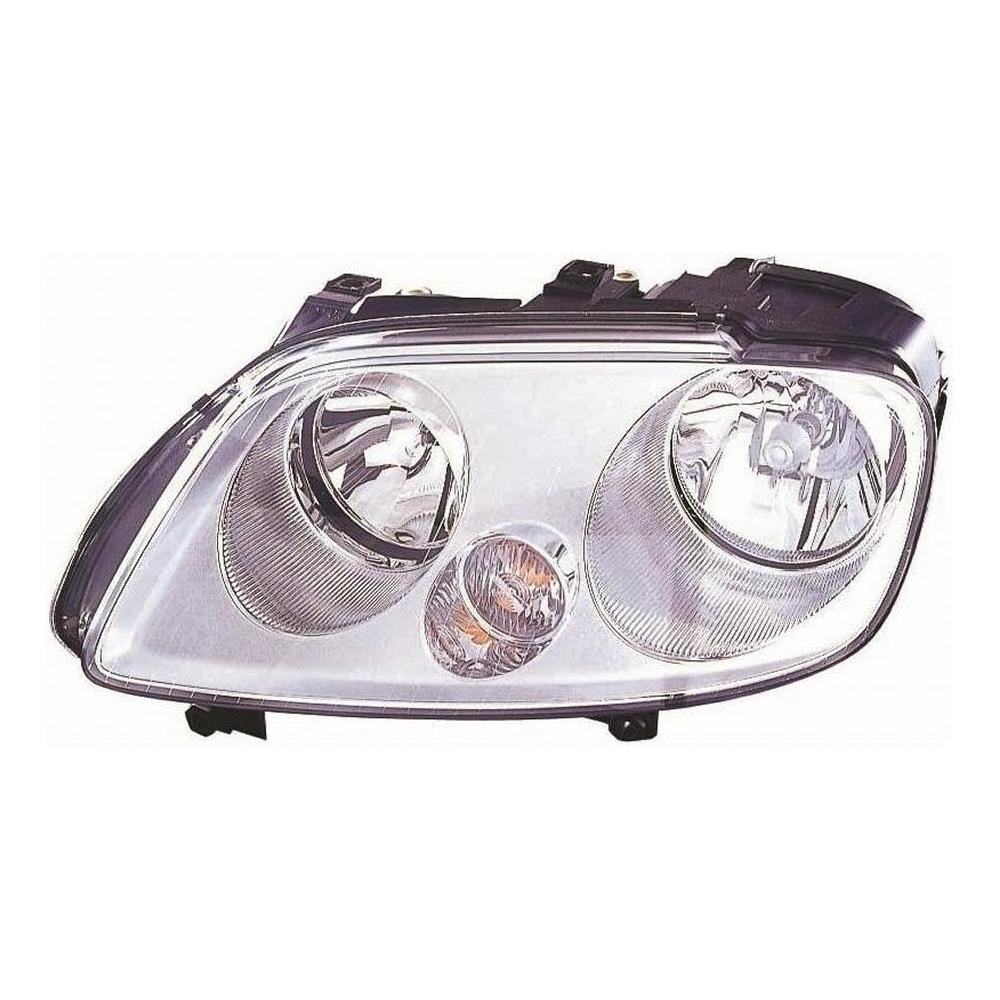 VW Touran Mk1 MPV 2003-10/2006 3 Pod Headlight Headlamp Passenger Side N/S