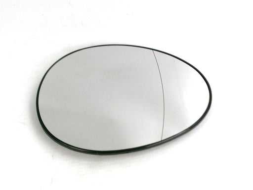 Mini Hatchback (R56) Mk.2 8/2006-4/2014 Heated Aspherical Mirror Glass Drivers Side O/S