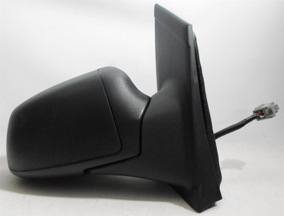 Ford Focus Mk2 2005-5/2008 Electric Wing Mirror Black Textured Drivers Side O/S