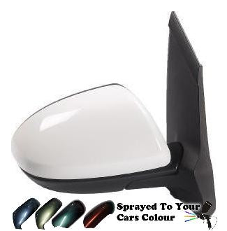 Mazda 2 Mk2 9/2007-4/2015 Electric Wing Mirror Drivers Side O/S Painted Sprayed