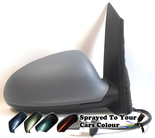 Vauxhall Astra J Mk6 1/2010+ Electric Heated Wing Mirror Driver Side O/S Painted Sprayed
