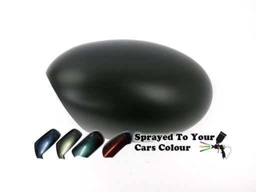 Mini Cabriolet (R52) Mk.1 2004-5/2009 Wing Mirror Cover Passenger Side N/S Painted Sprayed