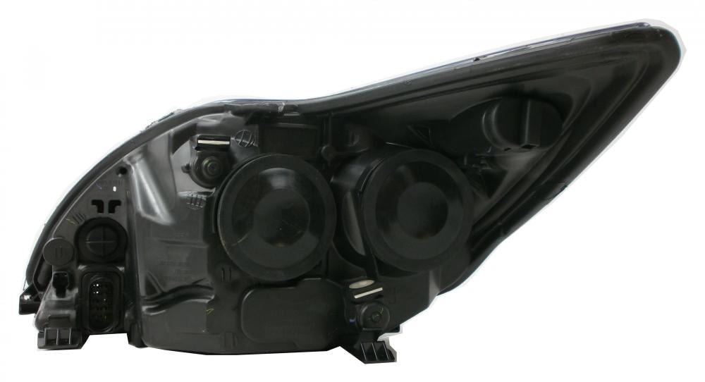 Ford Focus Mk2 Cabrio 3/2008-6/2011 Black Inner Headlight Lamp Drivers Side O/S