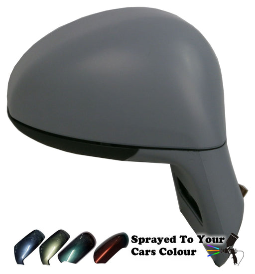 Citroen C4 2004-2010 Power Folding Wing Mirror Cover & Arm Drivers Side Painted Sprayed