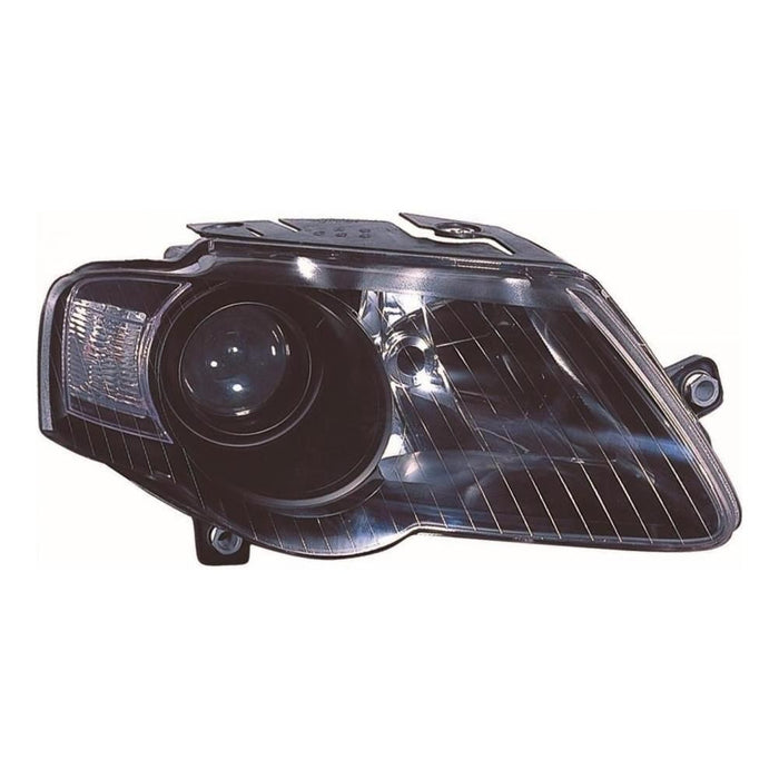 VW Passat Mk6 B6 Saloon 6/2005-3/2011 Black Inner Headlight Drivers Side O/S