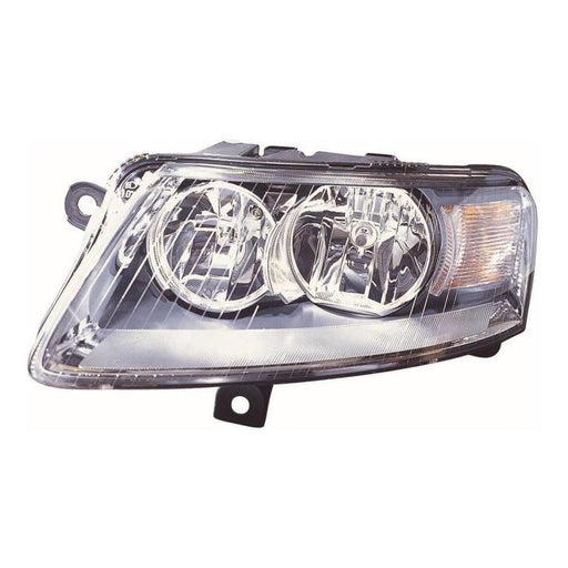 Audi A6 Mk2 C6 (4F) Estate 6/2004-2008 Chrome Inner Headlight Passenger Side N/S