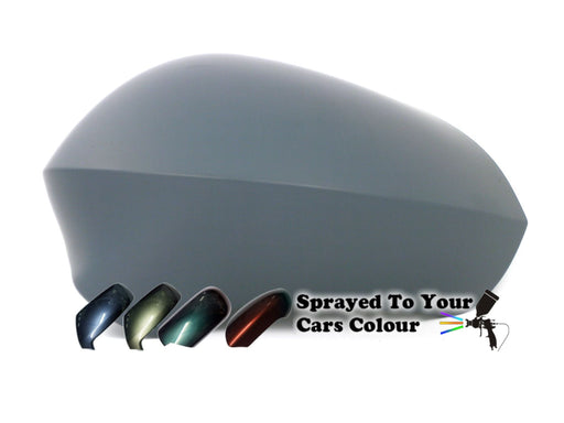 Seat Ibiza Mk.5 7/2008-10/2017 Wing Mirror Cover Passenger Side N/S Painted Sprayed