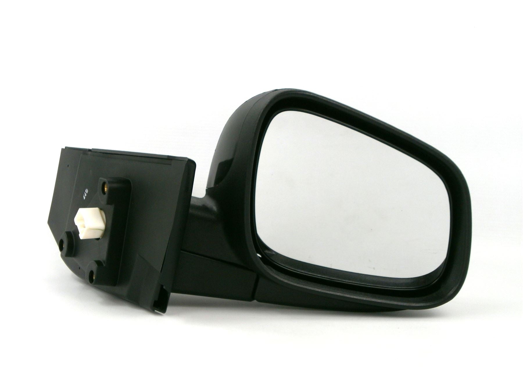 Chevrolet Spark 2009-8/2013 Electric Wing Mirror Heated Black Drivers Side O/S