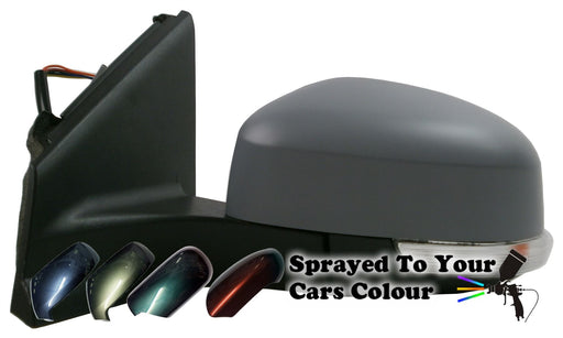 Ford Mondeo Mk4 1/2011-3/2015 Wing Mirror Power Folding Drivers Side Painted Sprayed