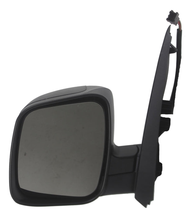 Citroen Nemo 2008+ Electric Heated Wing Mirror Black Textured Passenger Side N/S