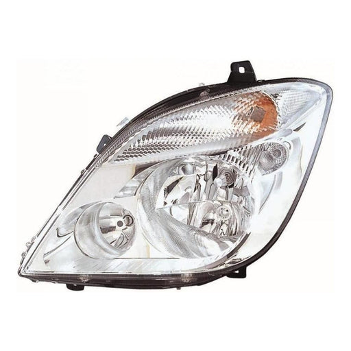 Mercedes Benz Sprinter Mk2 Van 2006-3/2014 Headlight Excl Fog Passenger Side N/S