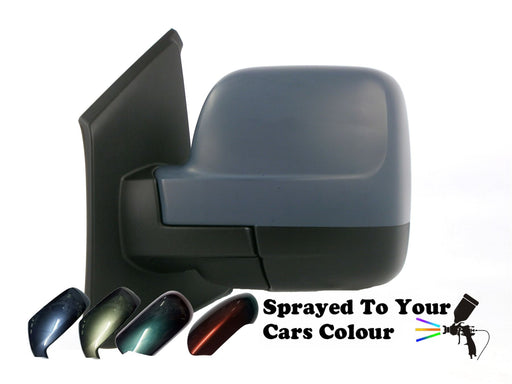 Nissan NV300 8/2014+ Electric Heated Wing Mirror Passenger Side N/S Painted Sprayed