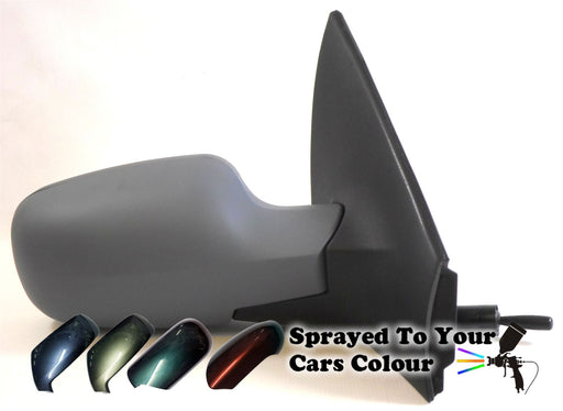 Renault Megane Mk2 8/2002-4/2009 Electric Wing Mirror Drivers Side O/S Painted Sprayed